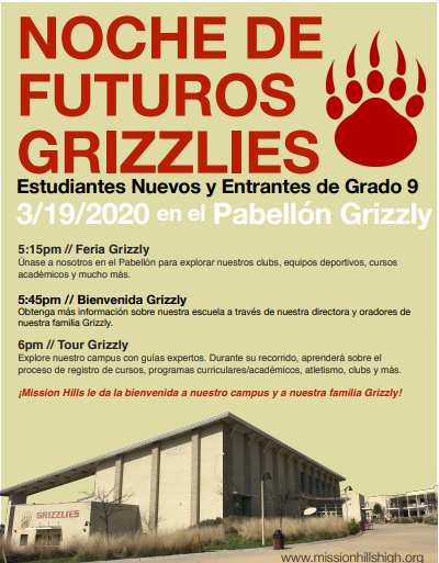 Future Grizzly Night Spanish